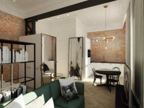 Mikro apartament przy Wiejskiej