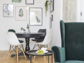 Inspirowane naturą – aranżacja z zielenią w tle